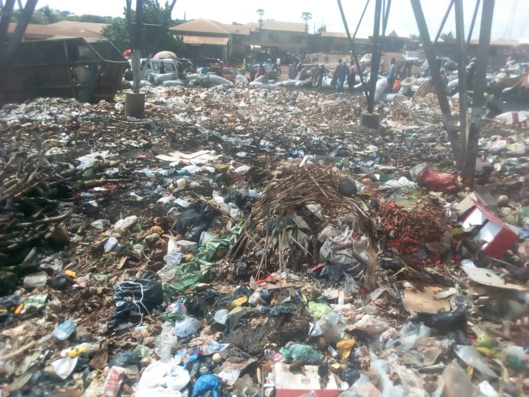 Food Vendors At Nana Bosoma Central Market Cry Over Poor Sanitation